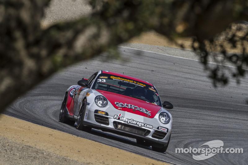 #33 CJ Wilson Racing, Porsche 911: Tyler McQuarrie, Marc Miller