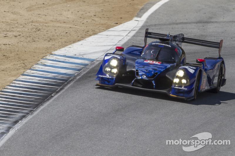#60 Michael Shank Racing和Curb/Agajanian Ligier JS P2 本田: John Pew, Oswaldo Negri Jr.