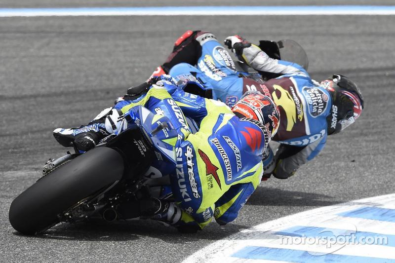Scott Redding, Marc VDS Racing Honda and Maverick Viñales, Team Suzuki MotoGP