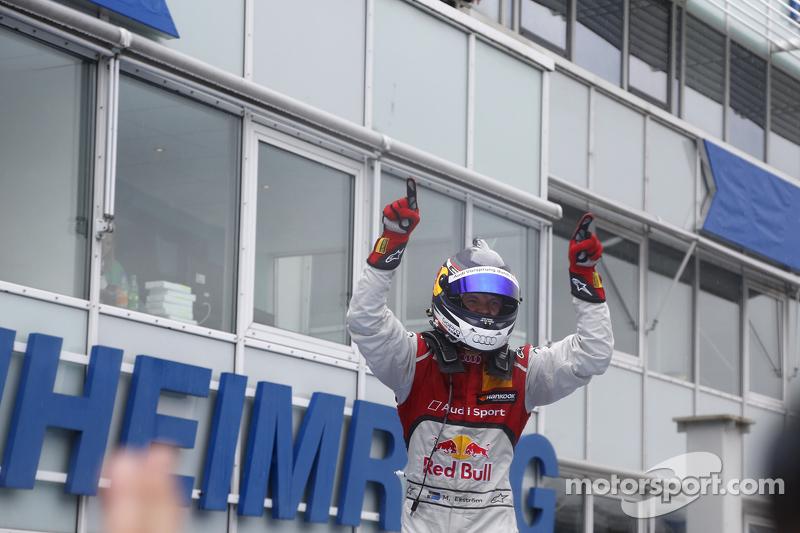 Il vincitore Mattias Ekström, Audi Sport Team Abt Sportsline, Audi A5 DTM