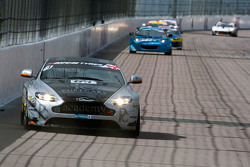 #61 Academy Racing Aston Martin Vantage GT4: Willie Moore, Dennis Strandberg