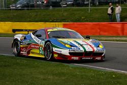 #51 AF Corse 法拉利F458 Italia: Gianmaria Bruni, Toni Vilander