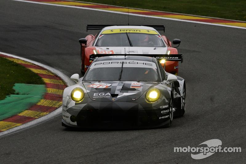 #88 Abu Dhabi-Proton Racing, Porsche 911 RSR: Christian Ried, Khaled Al Qubaisi, Klaus Bachler