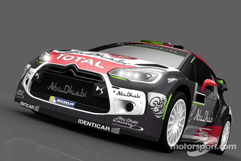 Ліврея для Халід Аль-Кассимі та Кріс Паттерсон, Citroën DS3, Citroën World Rally Team