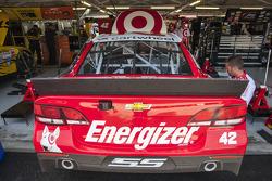 El auto de Kyle Larson, Ganassi Racing Chevrolet