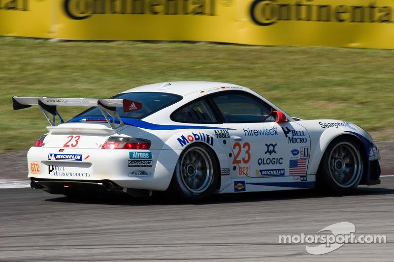 #23 Alex Job Racing Porsche 911 GT3 RSR: Mike Rockenfeller, Marcel Tiemann