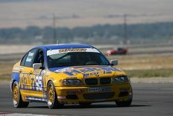 La BMW 330i n°95 du Turner Motorsport (Will Turner, Don Salama)