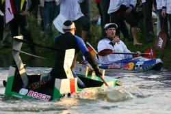Final race between Pierre Kaffer and Martin Tomczyk