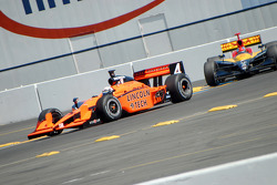 Vitor Meira and Bryan Herta