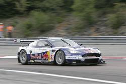 #33 Race Alliance Motorsport Aston Martin DBR9: Karl Wendlinger, Philipp Peter