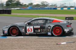 #63 Team Modena  Aston Martin DBR9: Antonio Garcia, Peter Hardman