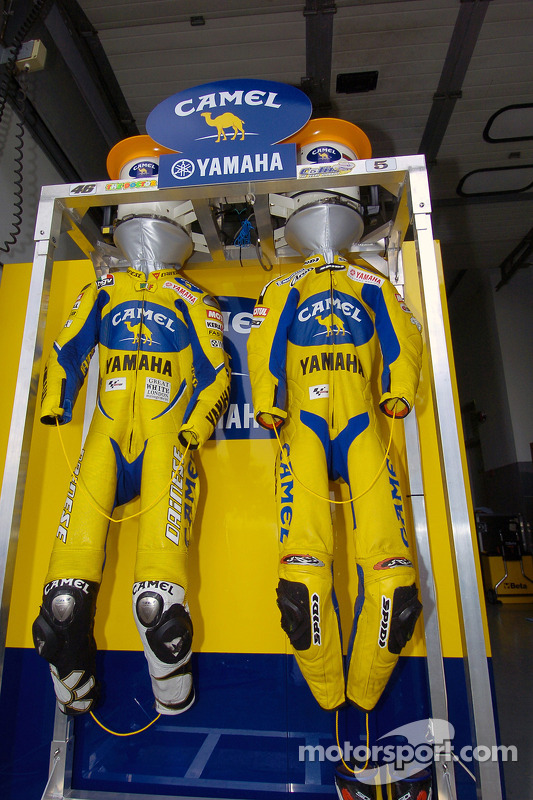 Le garage de Camel Yamaha