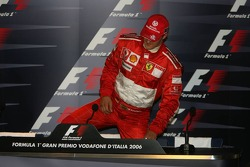 FIA press conference: race winner Michael Schumacher