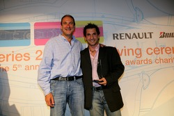 Most Improved Driver of the Year winner Timo Glock