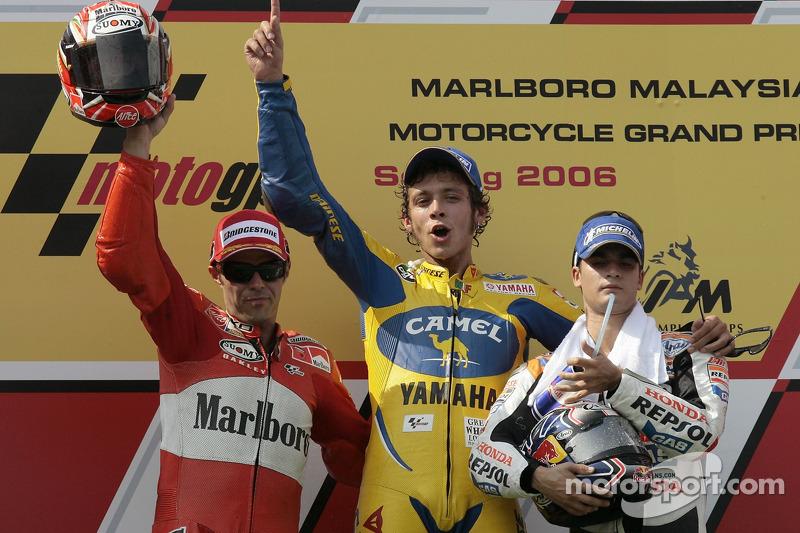 2006 : Valentino Rossi (Camel Yamaha Team)