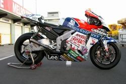 The Honda LCR bike of Casey Stoner