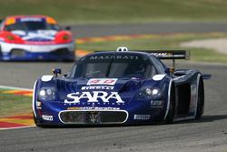 #40 Playteam Maserati MC 12 GT1: Giambattista Giannoccaro, Toni Vilander, Alessandro Pierguidi