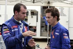 Xavier Pons with Marc Van Dalen