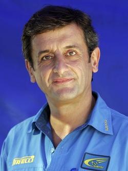 Subaru World Rally Team sporting director Luis Moya