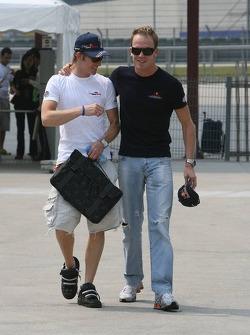 Scott Speed y Robert Doornbos