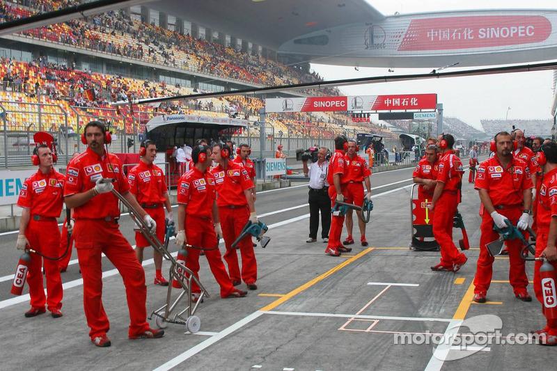 Equipo Scuderia Ferrari