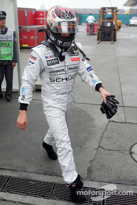Kimi Raikkonen se retira