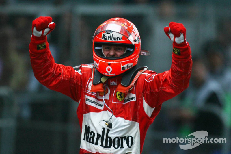 Michael Schumacher - 72 galibiyet