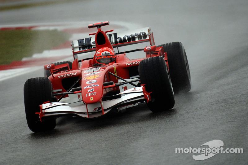 2006 : Michael Schumacher, Ferrari 248 F1