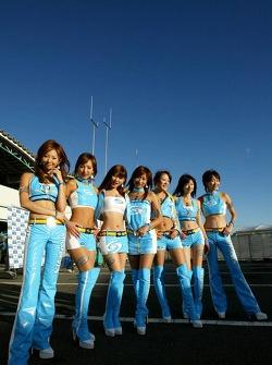 The lovely Mild Seven girls