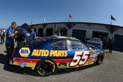 NAPA Chevy at technical inspection