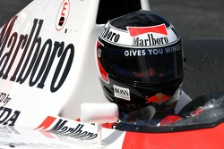 Gerhard Berger in the McLaren Honda