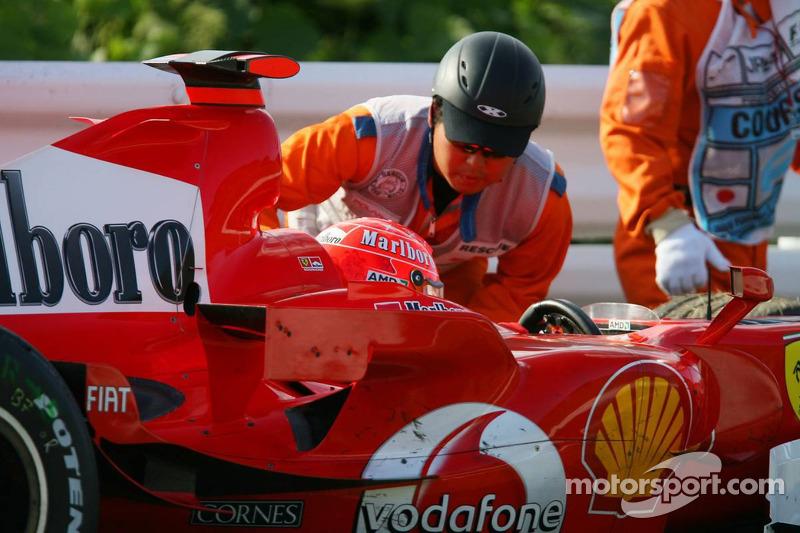 GP Japón 2006: muchos años después, humo