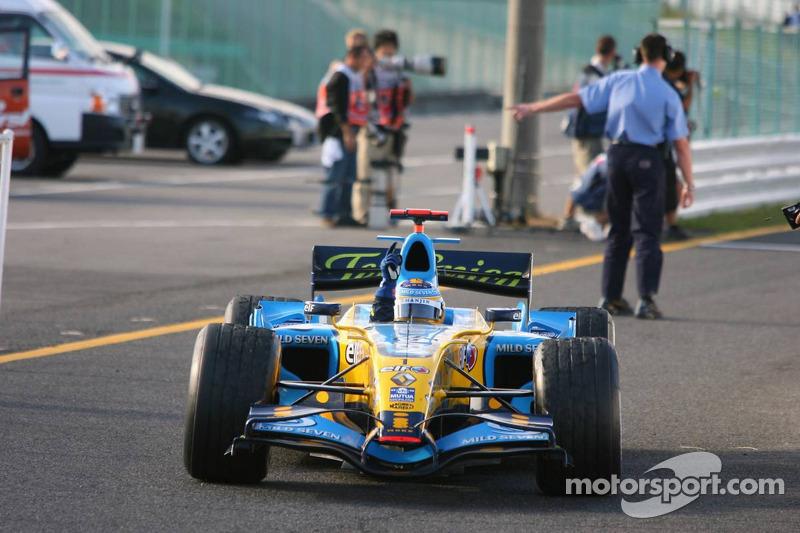 2006 - Suzuka: Fernando Alonso, Renault R26