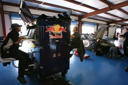 Red Bull engineers at work