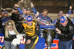 Beer shower for 2006 NASCAR Busch Series Champion Kevin Harvick