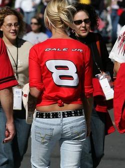 A lovely Dale Jr. fan