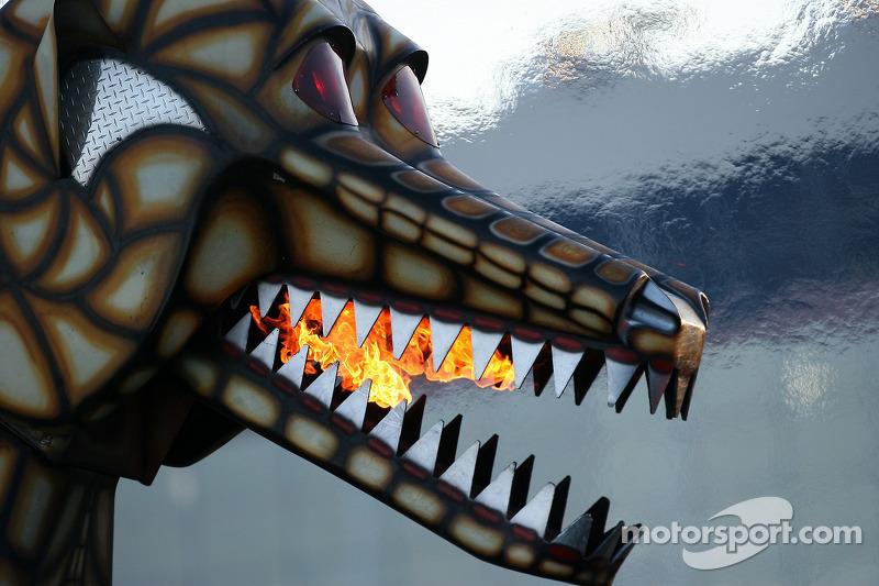 Robot Wars : le Mégasaurus en action