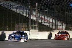 Kasey Kahne leads Dale Earnhardt Jr.