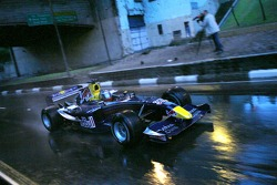 Red Bull Racing demo run in Sao Paulo: Michael Ammermuller in action
