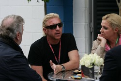 Willi Weber and Boris Becker