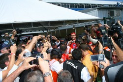 Media frenzy for pictures of Michael Schumacher