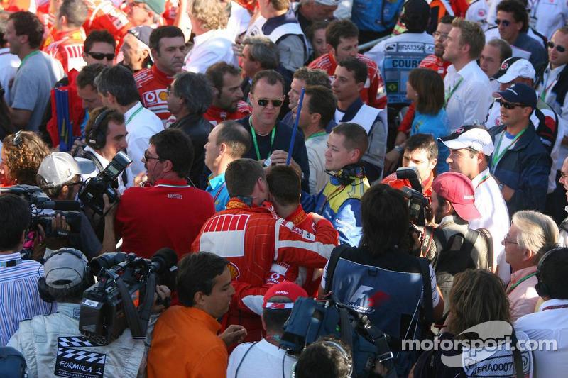 Dernier Grand Prix pour Michael Schumacher