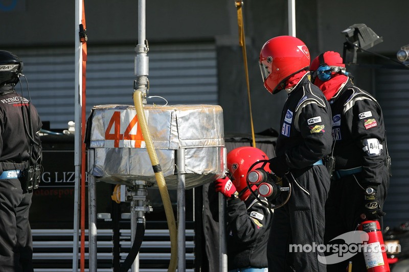 L'équipe de la Flying Lizard Motorsports n°44