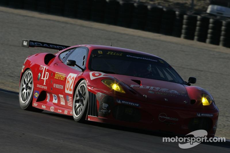 La Ferrari 430 GT Berlinetta n°62 de Rizi Competizione : Stéphane Ortelli, Mika Salo