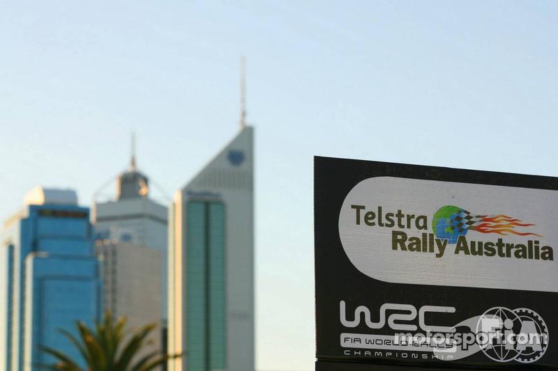 WRC Australia à Perth