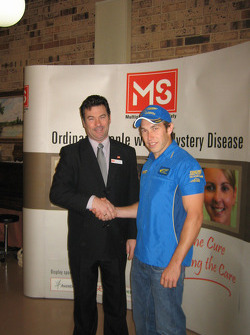 Chris with Marcus Stafford from Multiple Sclerosis