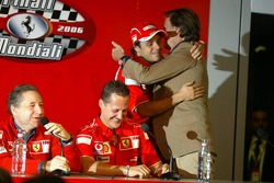 Press conference: Jean Todt, Michael Schumacher, Felipe Massa and Luca di Montezemolo