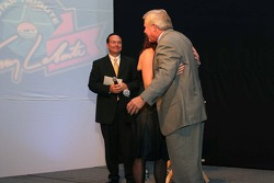Terry Labonte gives his daughter a hug