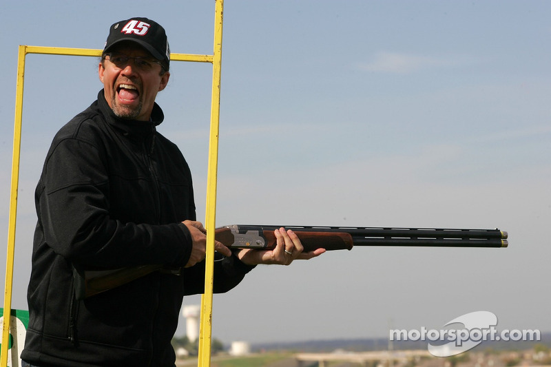 Beretta Celebrity Clay Shoot au Ranch Circle T à Fort Worth au Texas : Kyle Petty