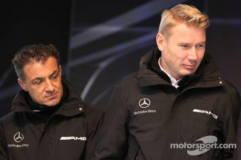 Jean Alesi et Mika Häkkinen
